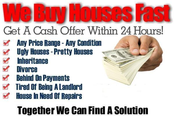 we buy your house for cash, fast